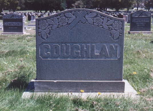 Michael Coughlan's Tombstone
