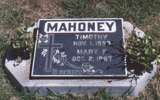 Mary Mahoney's Tombstone